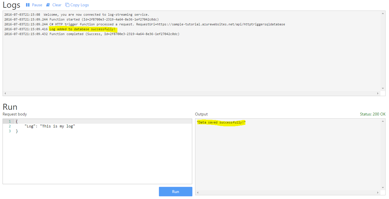 Azure Functions Tutorial – Sql Database | Sarmaad Amin